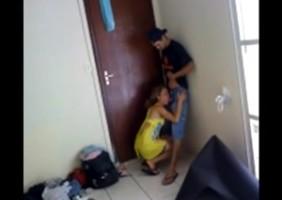 Novinha Pagando Boquete