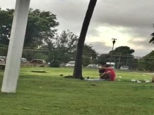 Flagra Amador Casal Fazendo Sexo No Parque Ibirapuera SP