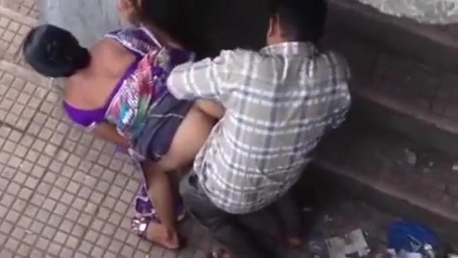 Flagra No Beco Fodendo Morena Gostosa Empinadinha