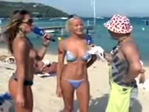 Sabrina Sato Pelada Na Praia Programa Pânico