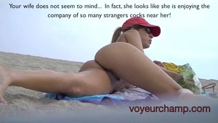 Muito gostosa raspadinha flagrada na praia de nudismo