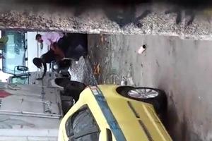 Taxista Flagra Casal Transando No Beco De Carga e Descarga
