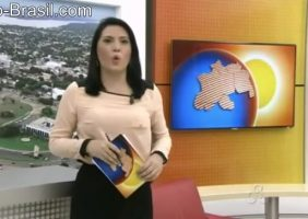 Apresentadora De Tele Jornal