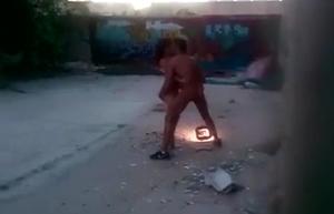 Morador Flagra Gravação De Filme Porno Caseiro Entre Casal Na Favela