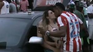Flagras de sexo no carnaval casal se pegando cheios de tesão