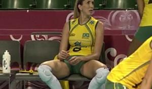 Flagras olimpiadas jogadoras gostosas do vôlei brasileiro