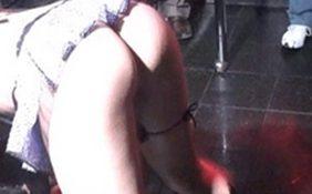 flagras stripper gostosa