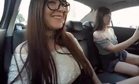 irmãs peladas no uber