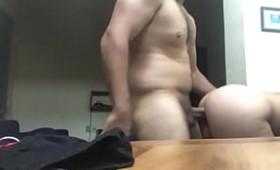 Caiu na net sexo no trabalho com gostosa amadora pelada